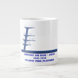 Johnson Air Base Japan Oylmpic Diving Platform Large Coffee Mug