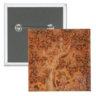 Johnson Album I, No.30 Squirrels on a plane Button