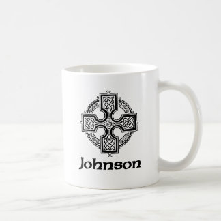 Johnson Celtic Cross Coffee Mug