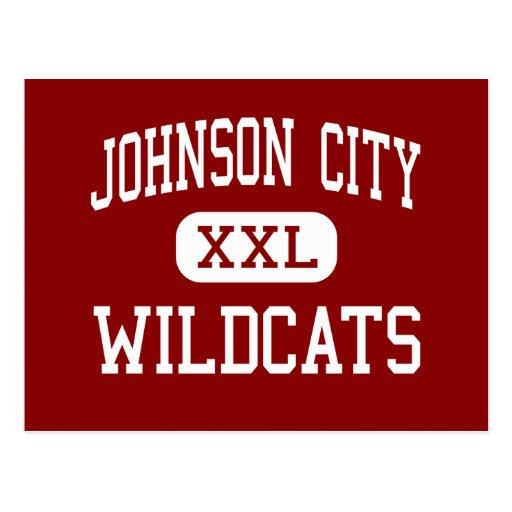 Johnson City - gatos monteses - alto - Johnson Postal