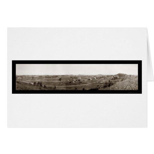 Johnson City TN Photo 1910 Greeting Card