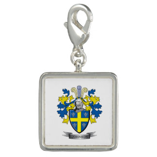 Johnson Coat of Arms Charms