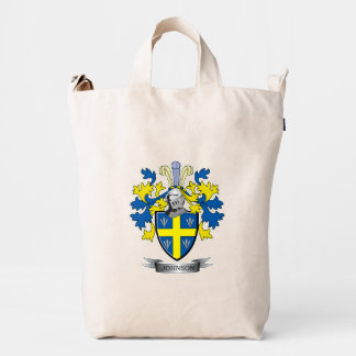 Johnson Coat of Arms Duck Bag