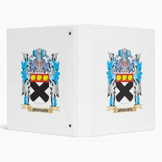 Johnson Coat of Arms - Family Crest Vinyl Binder