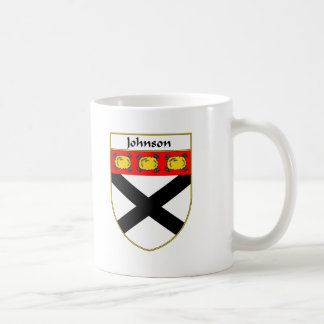 Johnson Coat of Arms/Family Crest Coffee Mug