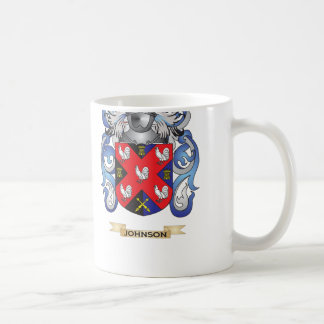 Johnson Coat of Arms (Family Crest) Coffee Mug
