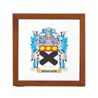 Johnson Coat of Arms - Family Crest Pencil/Pen Holder