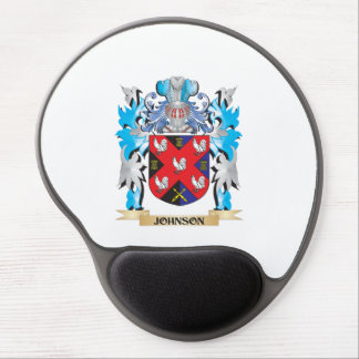 Johnson Coat of Arms - Family Crest Gel Mousepads