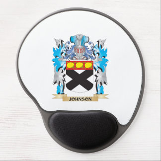 Johnson Coat of Arms - Family Crest Gel Mousepad