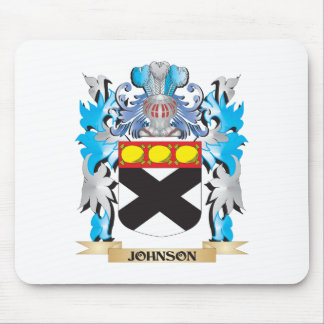 Johnson Coat of Arms - Family Crest Mouse Pad