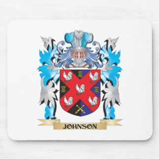 Johnson Coat of Arms - Family Crest Mouse Pads