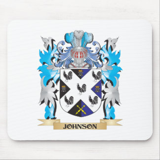 Johnson- Coat of Arms - Family Crest Mousepad