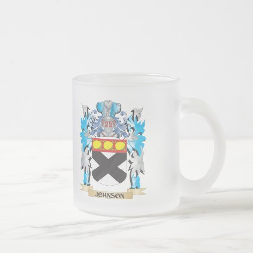 Johnson Coat of Arms - Family Crest Coffee Mugs