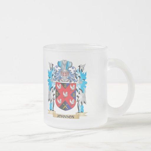 Johnson Coat of Arms - Family Crest Mug