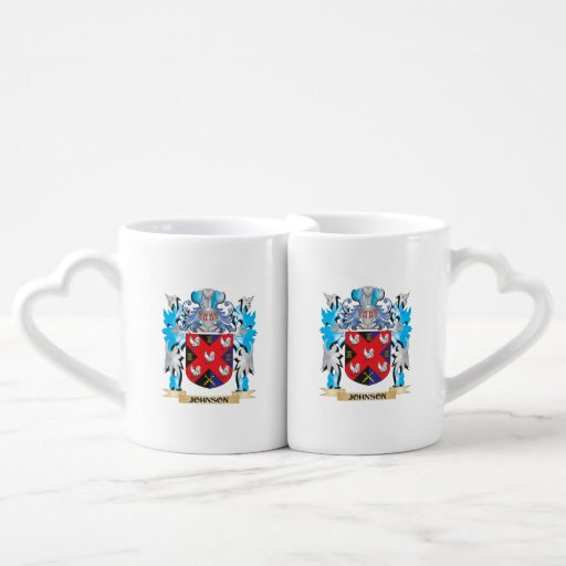 Johnson Coat of Arms - Family Crest Couples Mug