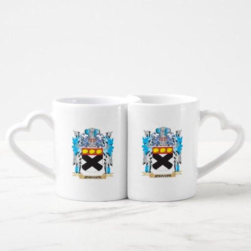 Johnson Coat of Arms - Family Crest Lovers Mug Set