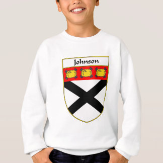 Johnson Coat of Arms/Family Crest Sweatshirt