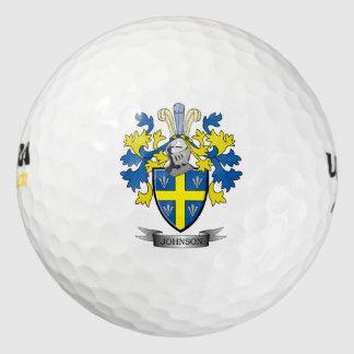 Johnson Coat of Arms Golf Balls