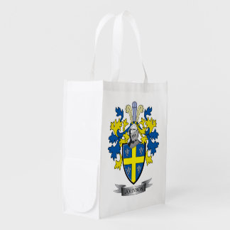 Johnson Coat of Arms Grocery Bag