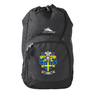 Johnson Coat of Arms High Sierra Backpack