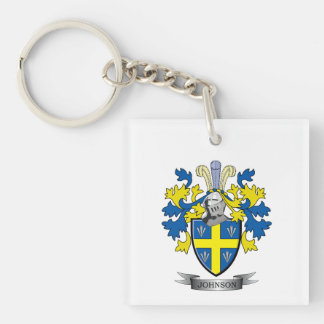 Johnson Coat of Arms Keychain