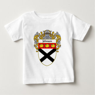 Johnson Coat of Arms (Mantled) Baby T-Shirt