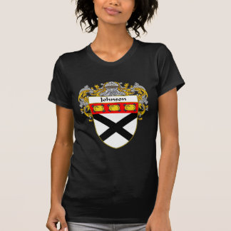 Johnson Coat of Arms (Mantled) T-Shirt
