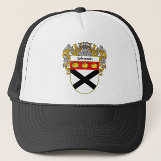 Johnson Coat of Arms (Mantled) Trucker Hat