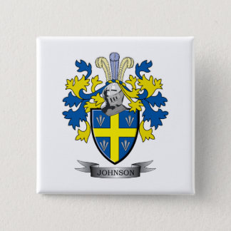 Johnson Coat of Arms Pinback Button