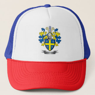 Johnson Coat of Arms Trucker Hat