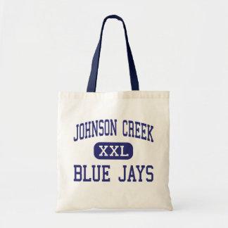Johnson Creek - Blue Jays - High - Johnson Creek Canvas Bags