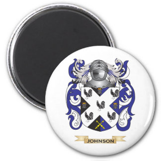 Johnson-(england) Coat of Arms (Family Crest) Magnet