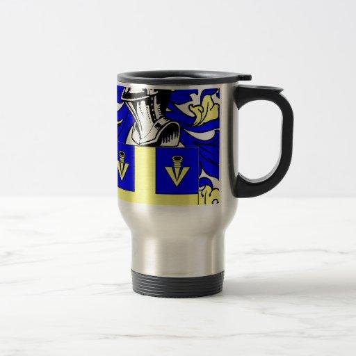 Johnson (English) Coat of Arms Coffee Mugs