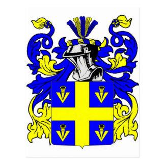 Johnson (English) Coat of Arms Postcard