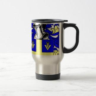 Johnson (English) Coat of Arms Travel Mug