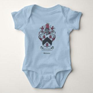 Johnson Family Coat of Arms Crest Baby Bodysuit