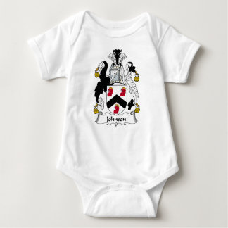 Johnson Family Crest Baby Bodysuit