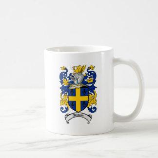 Johnson Family Crest - Coat of Arms Coffee Mug