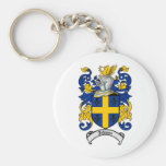Johnson Family Crest - Coat of Arms Keychain