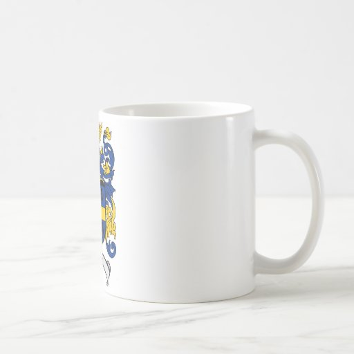 Johnson Family Crest - Coat of Arms Coffee Mugs