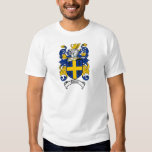 Johnson Family Crest - Coat of Arms T Shirt