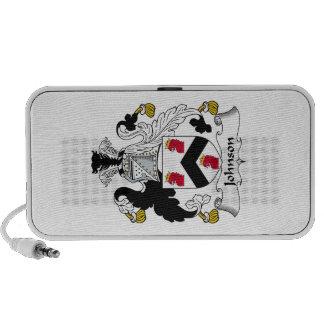 Johnson Family Crest iPhone Speaker