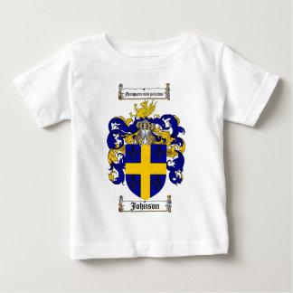 JOHNSON FAMILY CREST -  JOHNSON COAT OF ARMS BABY T-Shirt
