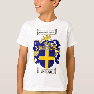 JOHNSON FAMILY CREST -  JOHNSON COAT OF ARMS T-Shirt