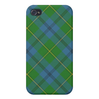 Johnson Family or Clan Tartan Plaid Iphone4 Case