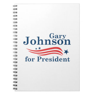 Johnson For President Notebook