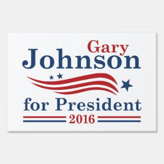 Johnson For President Sign