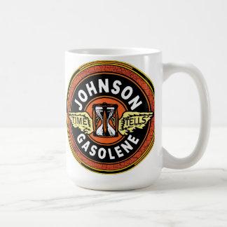 Johnson gas sign coffee mug