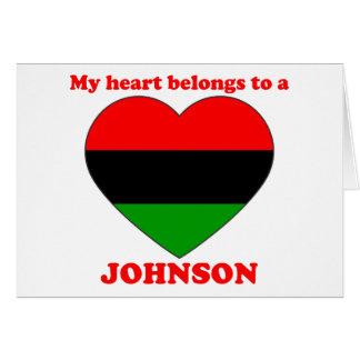 Johnson Greeting Cards