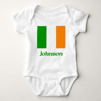 Johnson Irish Flag Baby Bodysuit